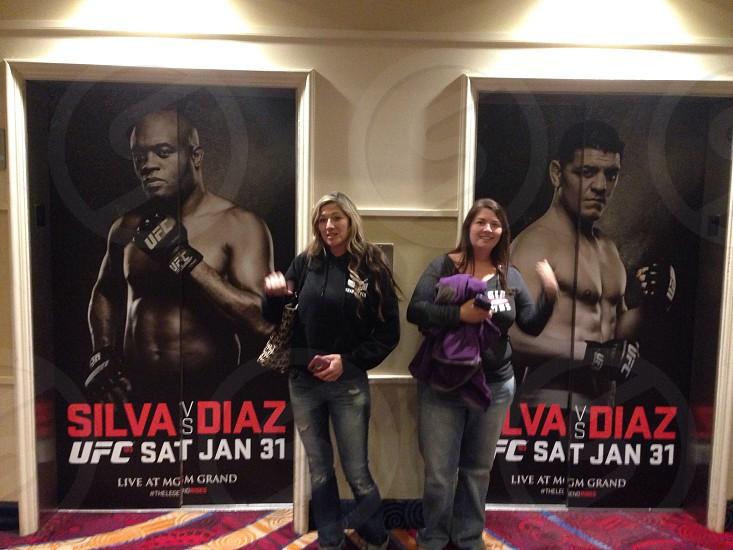 UFC 183 MGM Grand  photo