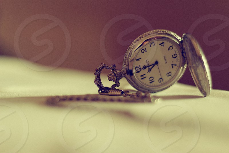 Shot of an old clock. photo