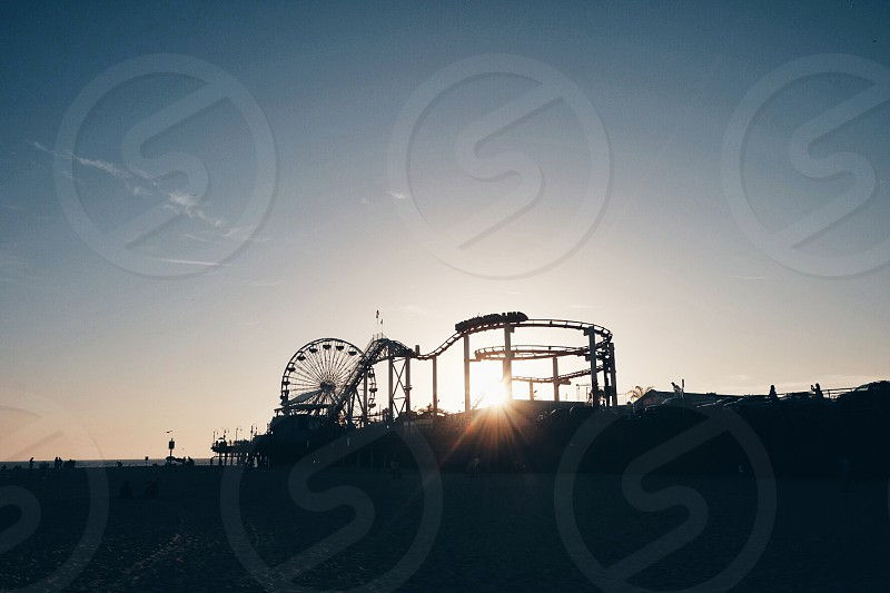 Sunset Vibes at Santa Monica photo