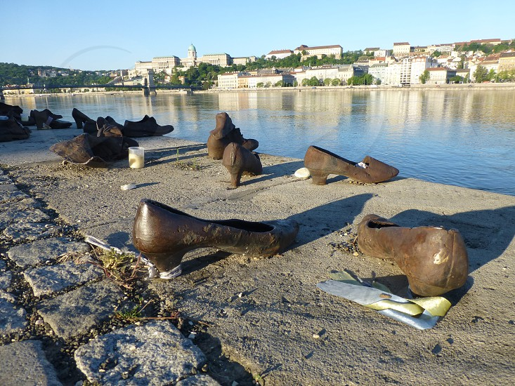 Shoes on the Danube Bank photo