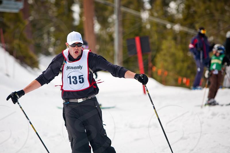 Heavenly Ski Resort Lake Tahoe California. photo