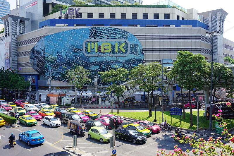 The MBK Center mall in Bangkok Thailand photo