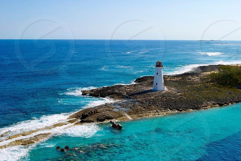 Lighthouse in Nassau Bahamas.  photo