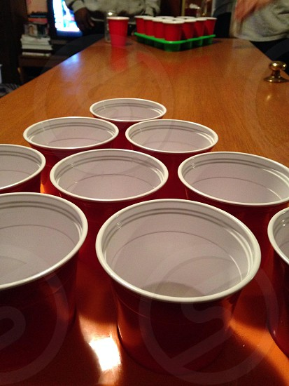 The joys of beer pong photo