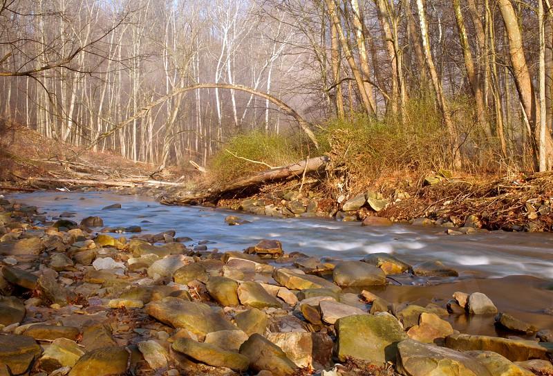 River Stream Rocky Shore photo