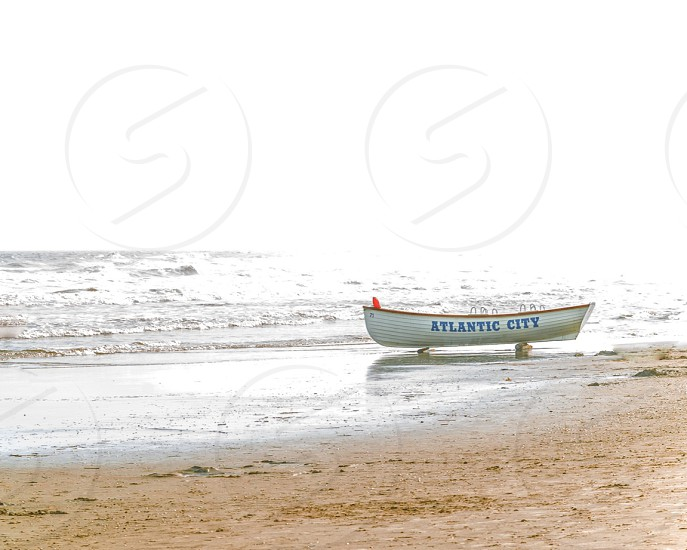 Morning at the beach • Atlantic City photo