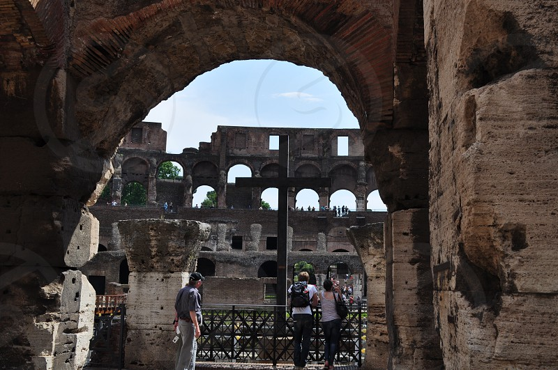 Colosseum - Rome Italy photo