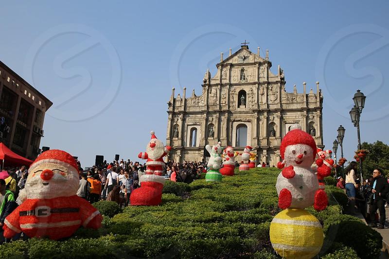 Ruins of St. Paul's Macau photo