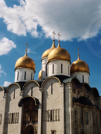 Inside the Kremlin Moscow  Russia  photo