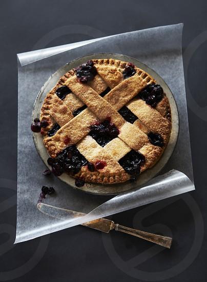 Fresh Blueberry Pie photo