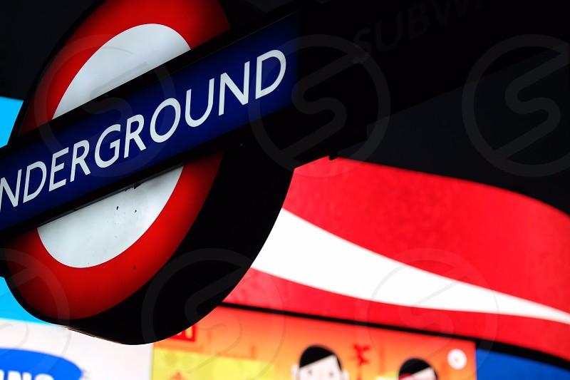 Busy London lights!  photo