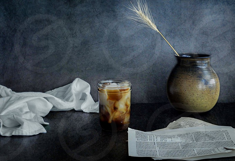 Coffee ice coffee still life still life photo still life photography Vancouver photo