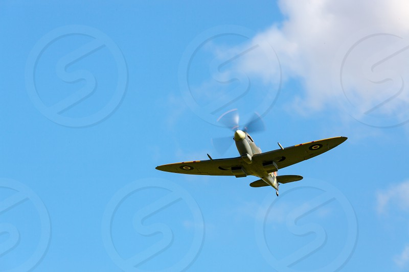 Supermarine Spitfire Flying at the Goodwood Revival photo