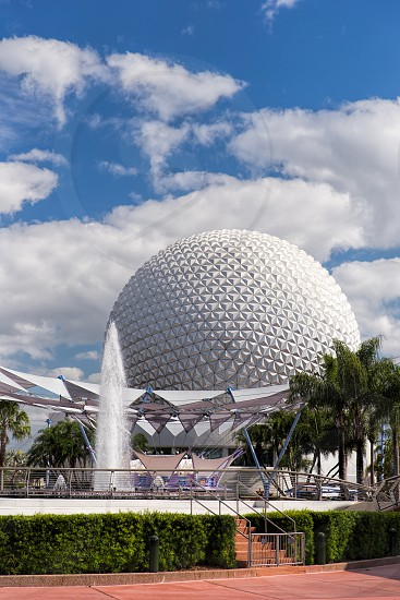 Epcot's geosphere Spaceship Earth  photo