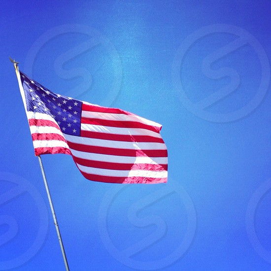 Flag America Independence Day photo