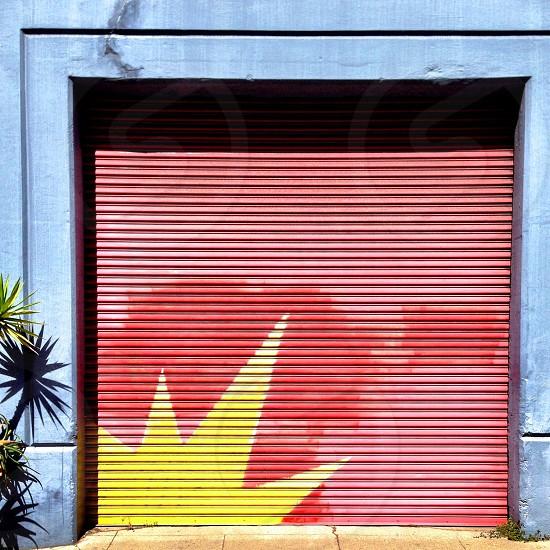 Garage door photo