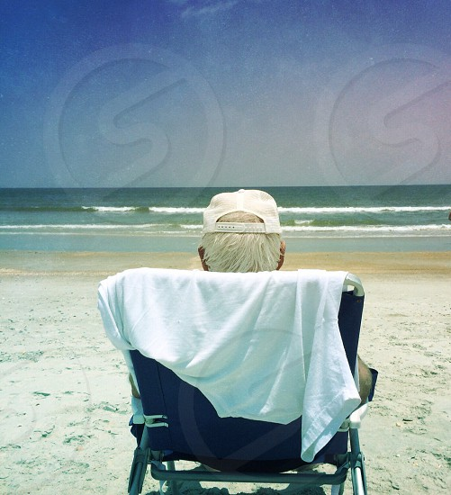 respite on the beach photo