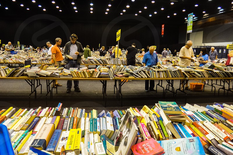 charity book sale to help you grow your home library photo