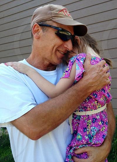 My daughter and her favorite grandpa photo