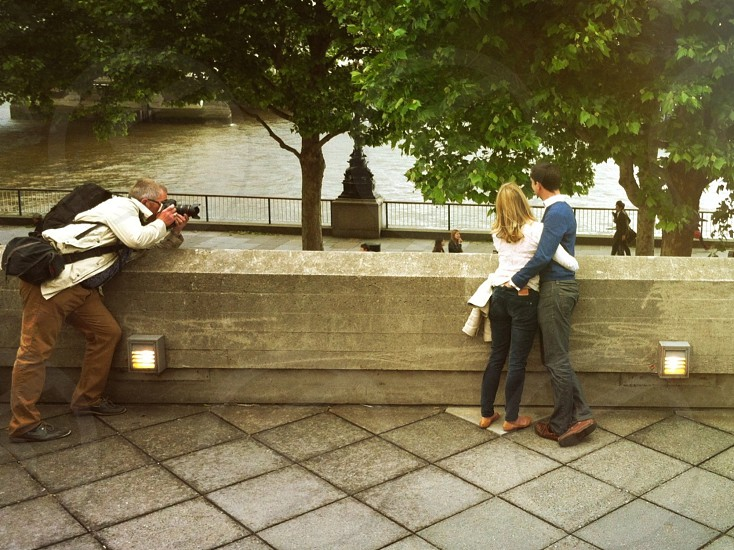 cheeky posers - london photo