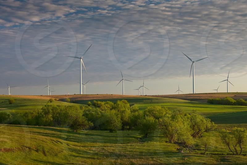 I70 salina Smoky Hills Wind Project salina kansas farm ranch photo