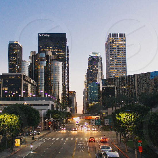 Los Angeles Financial District photo