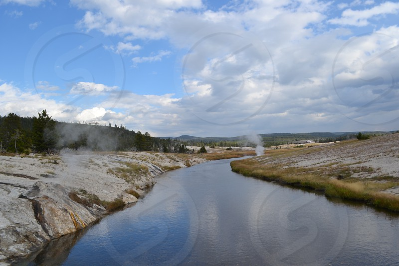 Yellowstone Steam Vents photo