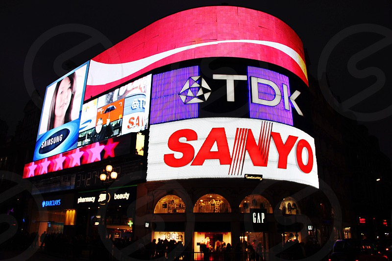 TDK Sanyo LED billboard photo