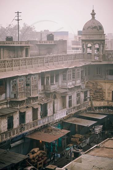 Delhi pollution after Diwali photo