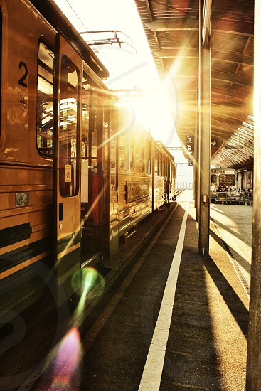 train door open photo
