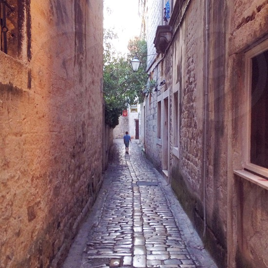 boy in alley photo