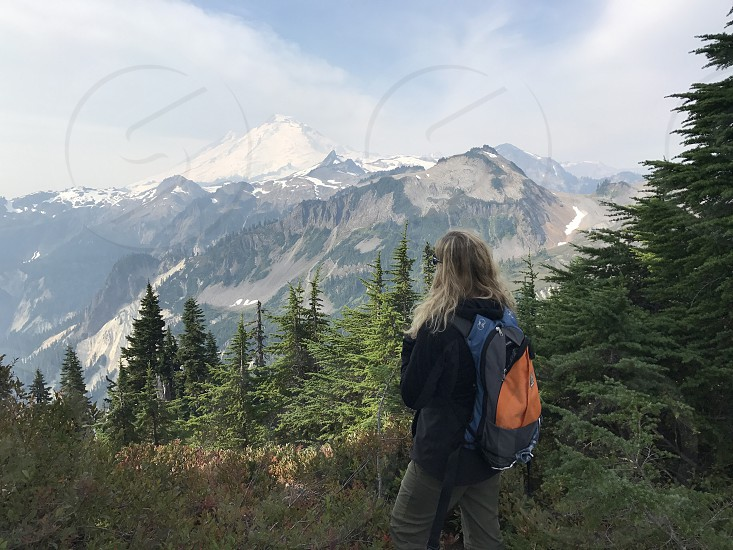 View of mount baker photo