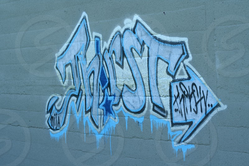 thirst graffiti photo