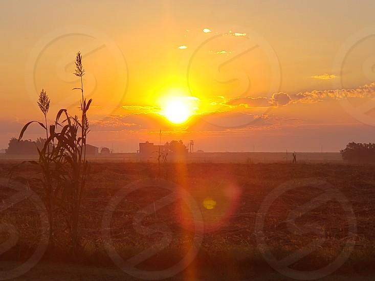 Sunrise in Kansas photo