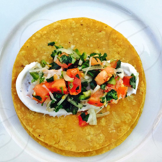 Lobster tail taco photo