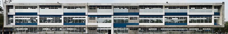 Building Panorama. photo