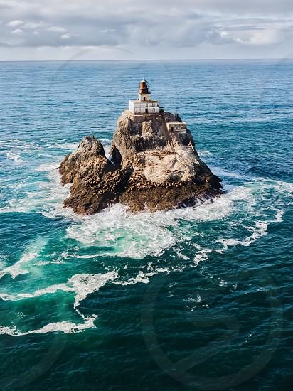 Lighthouse ocean photo
