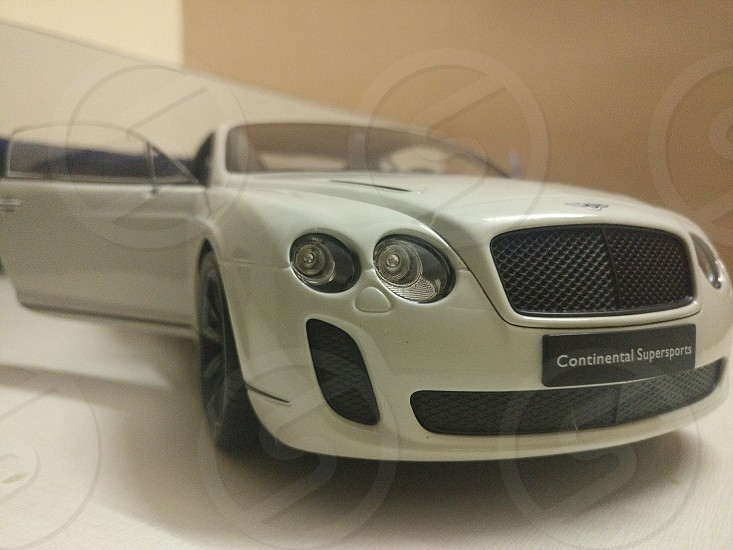 Bentley continental supersports miniature photo