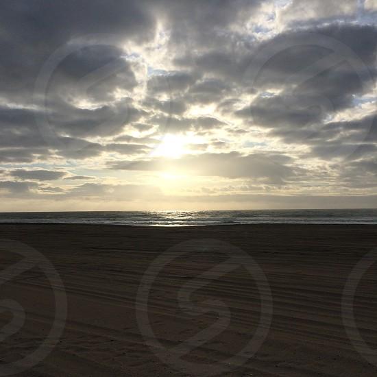 The sunrise at Carolina Beach photo