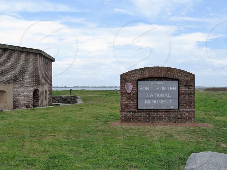 Civil War Fort Sumpter South Carolina  photo