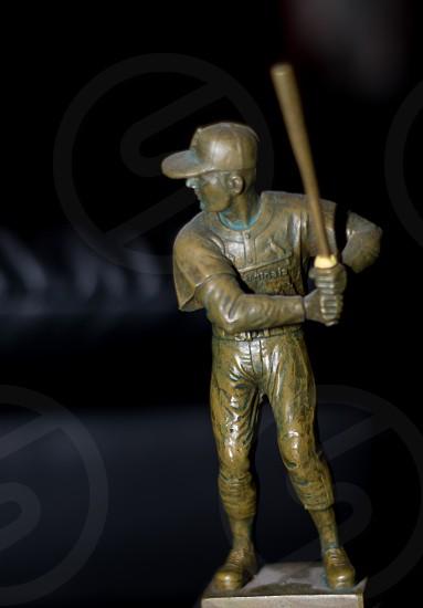 baseball statue figure photo