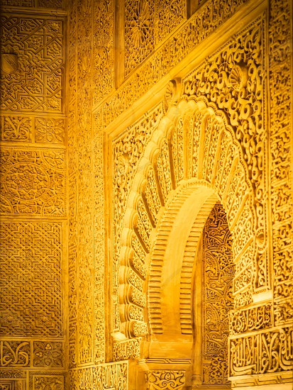 Part of the Alhambra Palace photo