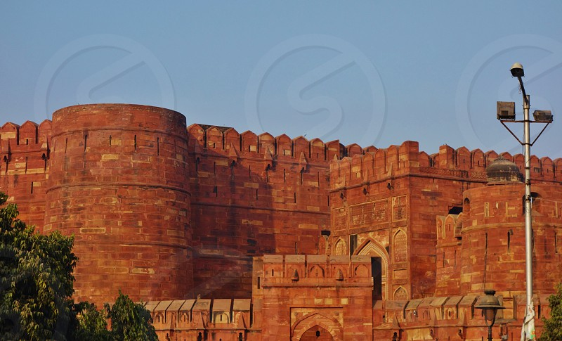 The Agra Fort in India photo