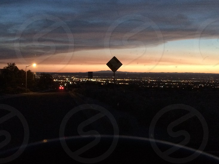 Sunset from the foothills photo