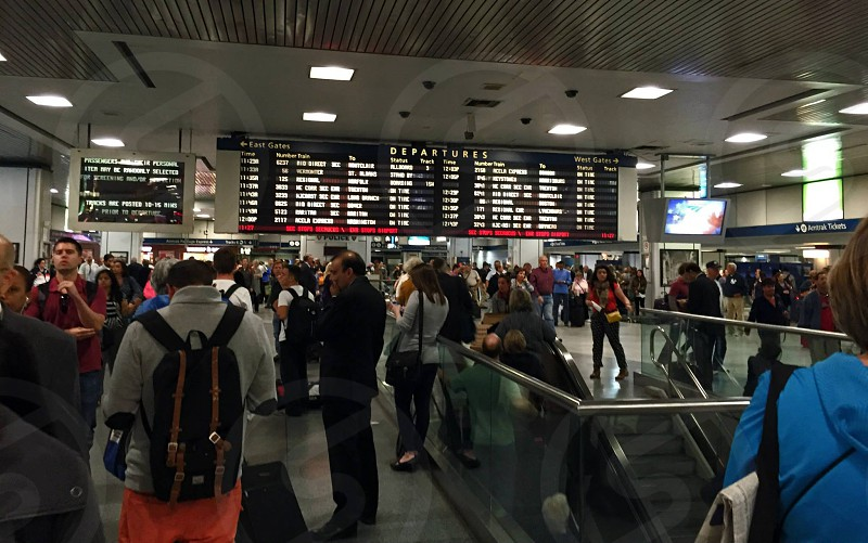 Penn Station New York. photo