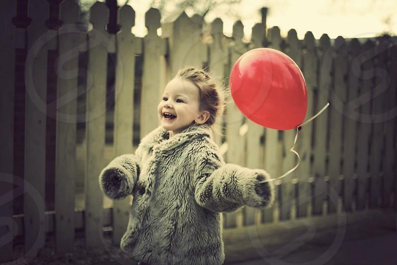 Red balloon photo