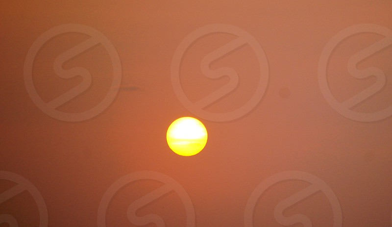 Hazy Sunset photo
