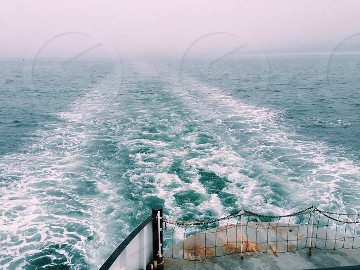 Ferry ride from Rockland to Vinalhaven Maine photo