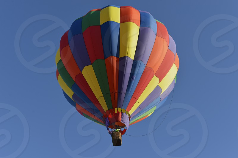 Air Balloon Buffalo Springs Lake Lubbock Texas photo