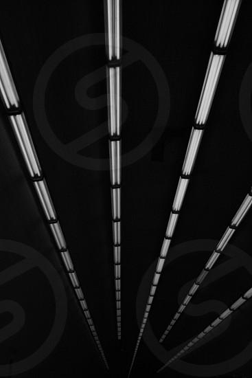 white florescent lamp photo